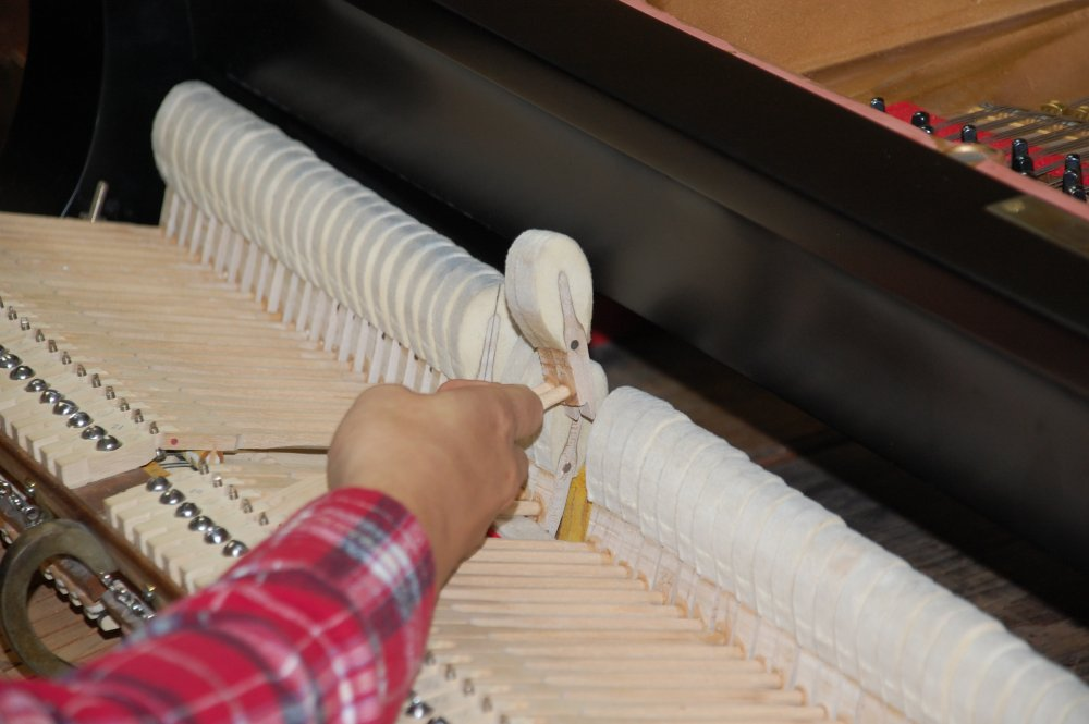 High quality hand crafted piano hammers