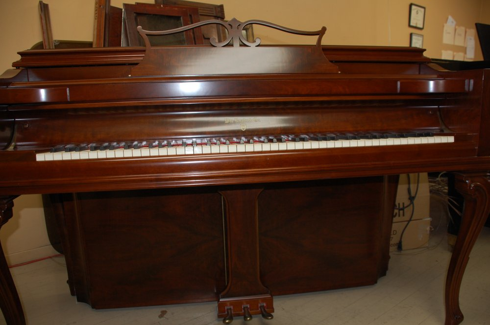 knabe tiger mahogany art deco restored piano. Black Bedroom Furniture Sets. Home Design Ideas